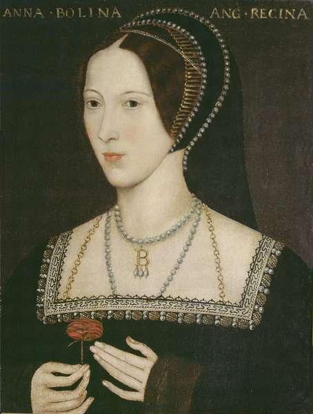 Anne Boleyn, 1534 (oil on panel)