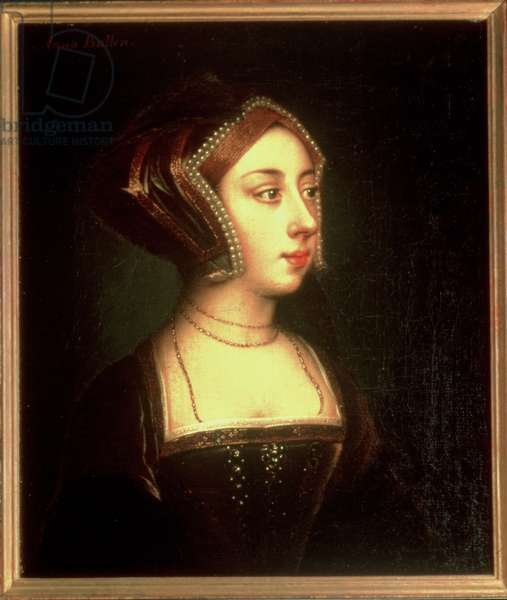 Anne Boleyn (1507-36) (oil on canvas)