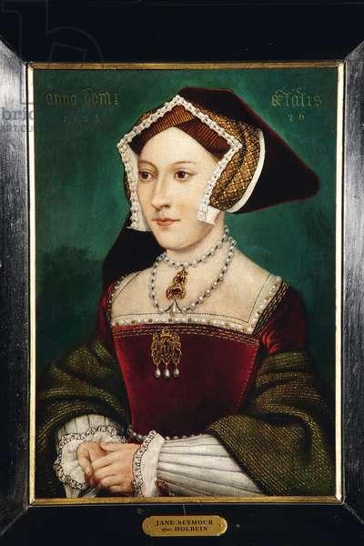 Jane Seymour (oil on oak panel)