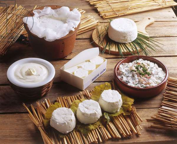 Fresh Cheese/Small Swiss/Cottage Cheese