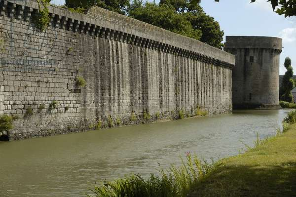 Guerande/Walls/Atlantic Loire/Country of the Loire/France