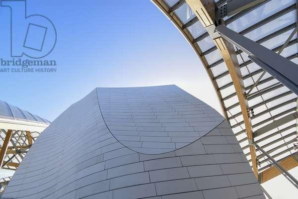 Louis Vuitton Foundation/Architect Frank Gehry/Paris XVI/Ile de France/France