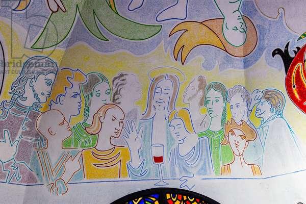 Chapel Jean Cocteau, Chapel Notre Dame de Jerusalem, Frejus, Var (photo)
