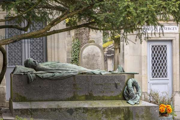 Tomb of Felix Faure/President of the Republic/Pere Lachaise Cemetery/Paris/Ile de France/France