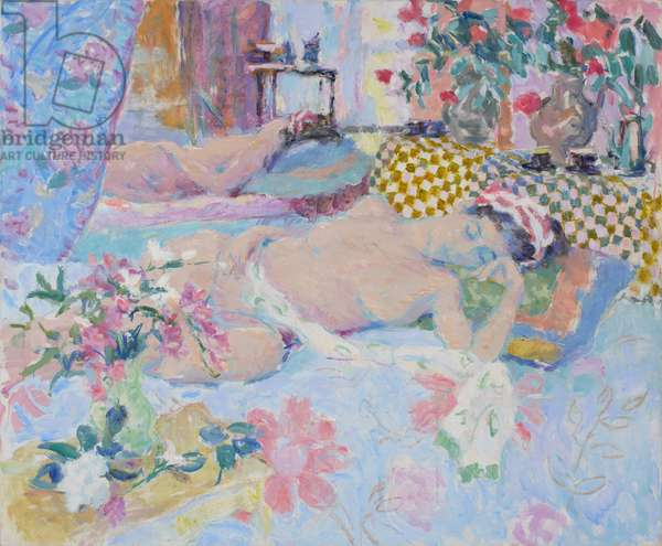 Morning Light, Sleeping Nude Dreaming, 2010 (oil on canvas)