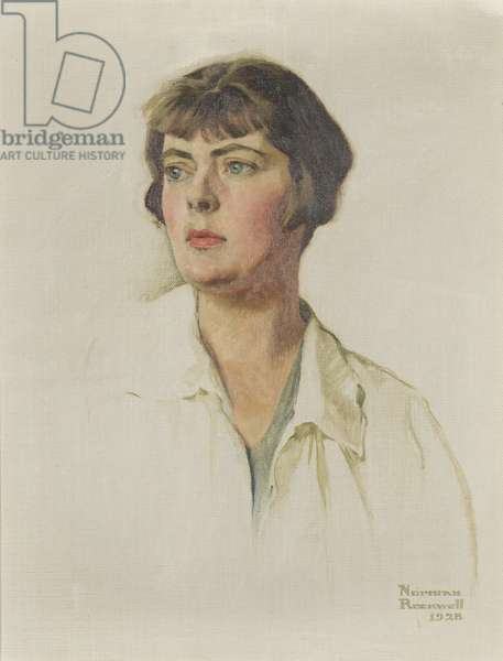 Portrait of Ruth Pine Furniss, 1928 (oil on canvas)