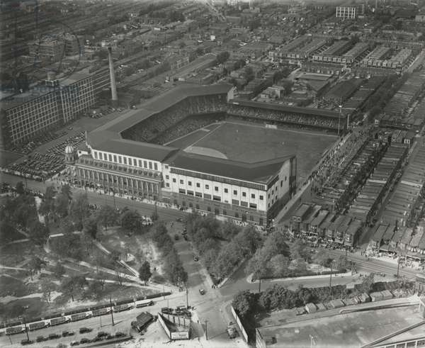 World Series opening game, Shibe Park, 1st October 1930 (b/w photo)