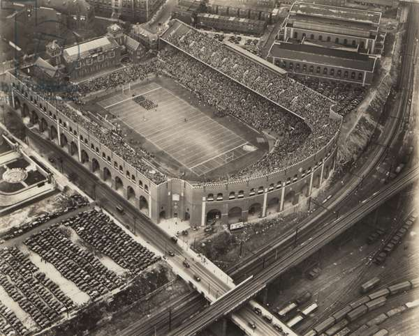 Franklin Field, Penn vs. Penn State, 21st October 1928 (b/w photo)