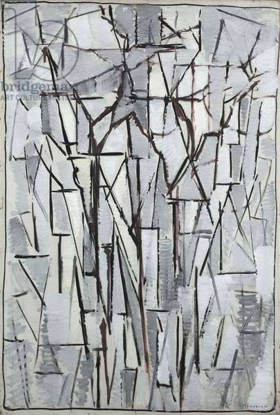 Composition trees 2, 1912-13 (oil on canvas)