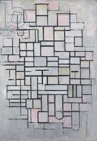 Composition No. IV, 1914 (oil on canvas)