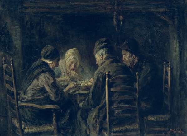 The Potato Eaters, 1902