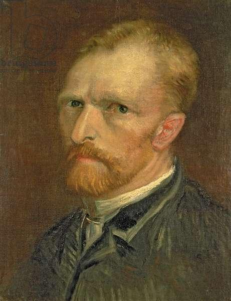 Self portrait, 1886 (oil on canvas)
