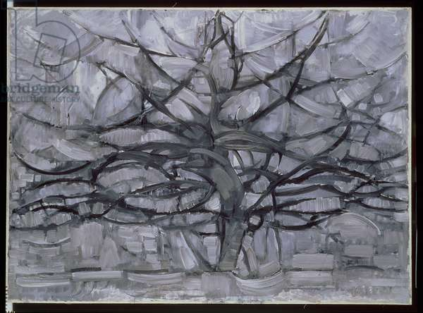 The Gray Tree, 1911 (oil on canvas)