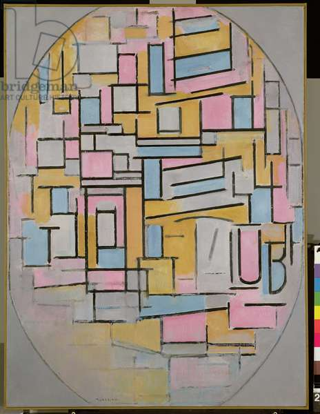 Composition in Oval with Colour Planes 2, 1914