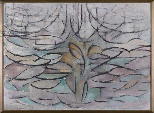 Flowering Appletree, 1912 (oil on canvas)