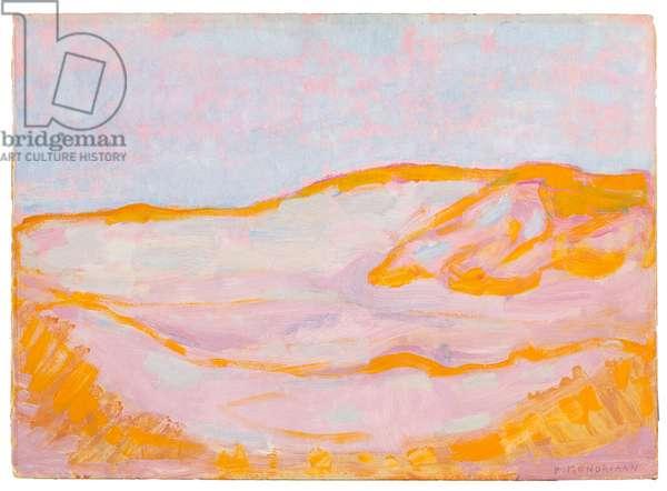 Dune IV, 1909 (oil on cardboard)