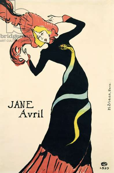Poster for Jane Avril, 1899 (litho)