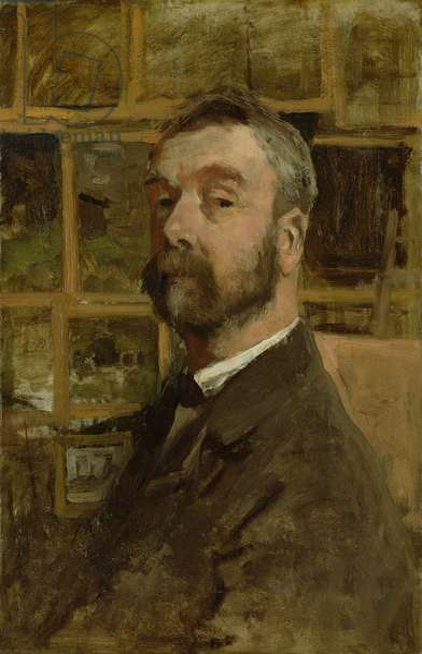 Self portrait, c.1884