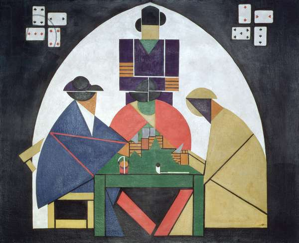 The Card Players, 1916/17