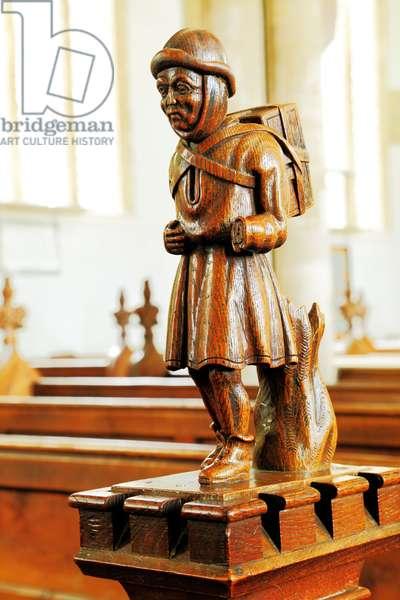 The Swaffham Pedlar, c.1462 (wood)