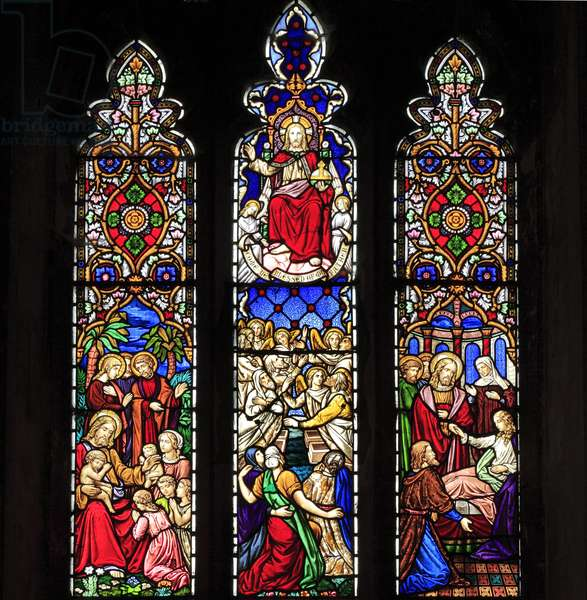 Window, 1861 (stained glass)