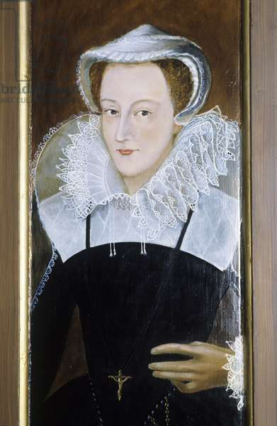 Mary Queen of Scots (oil on canvas)