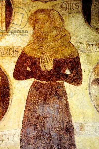 Spiritual Man, c.1380 (wall painting)