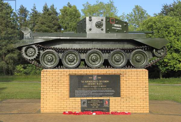 Desert Rats Memorial, Thetford Forest (photo)