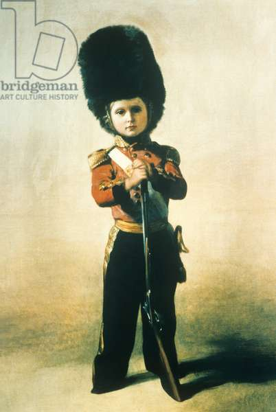 Duke of Connaught, Aged 5 (colour litho)