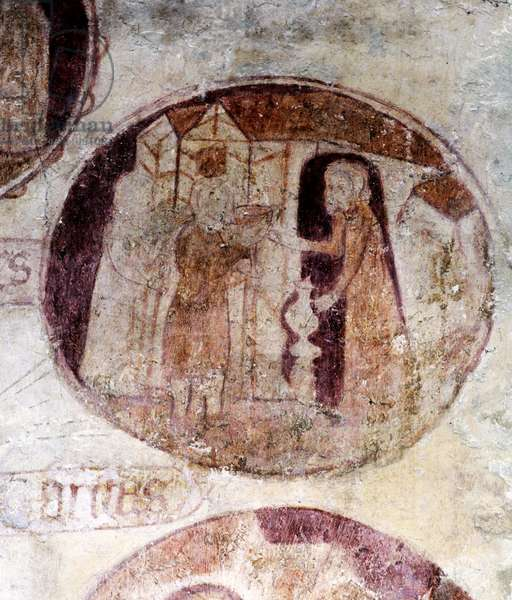 Water for the thirsty, c.1380 (wall painting)