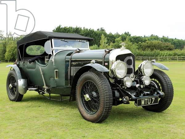 Bentley 8 coupe, c.1930 (photo)