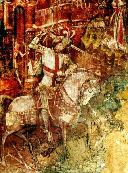 St. George and Dragon (fresco)