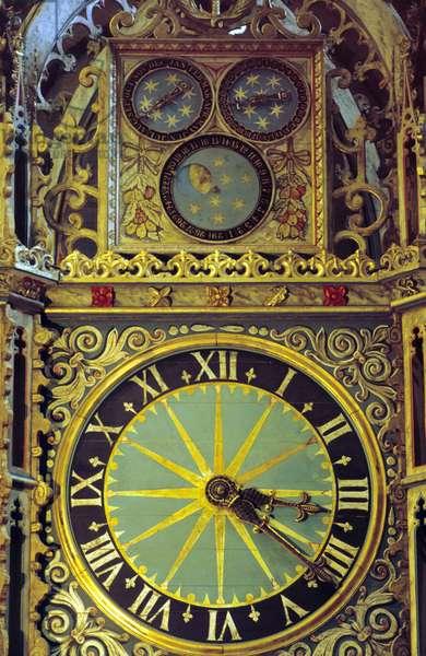 Prior Castell's Clock (photo)