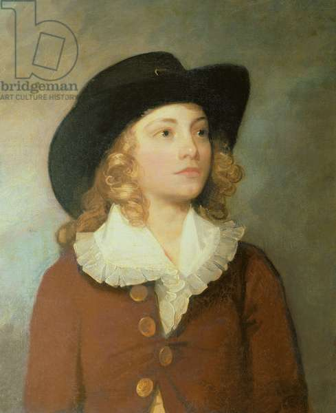 Portrait of William Ralph Cartwright, MP, aged 10 (oil on canvas)