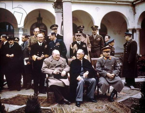 Yalta Conference 7 February 1945