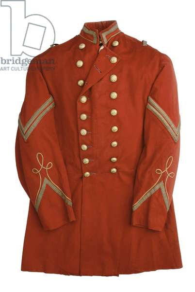 Uniform jacket of the Pawtucket Light Guard, Rhode Island Militia, c.1850 (textile)