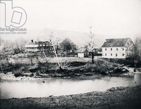 Jackson's Mill, West Virginia, 1910 (b/w photo)