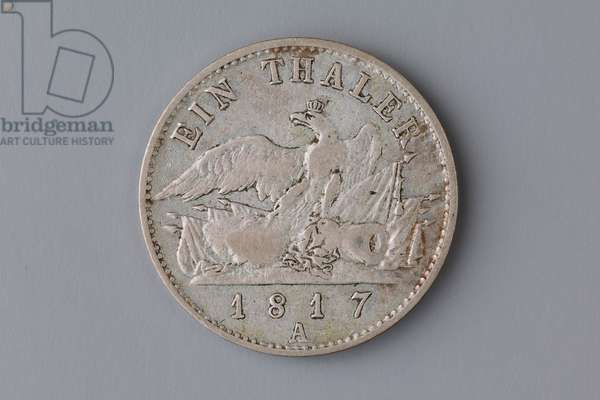 Prussian thaler, 1817 (silver) (see also 695101)
