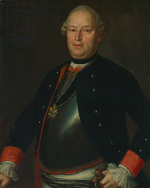 Ernst Friedrich III. Carl, Duke of Saxe-Hildburghausen, 1775-80 (oil on canvas)