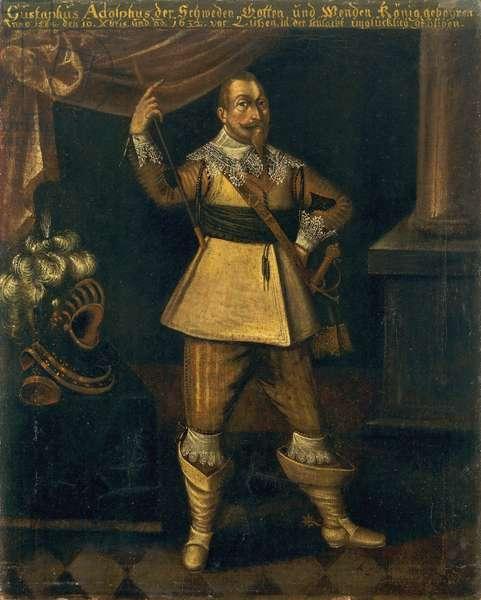 Gustavus Adolphus II, King of Sweden (oil on canvas)