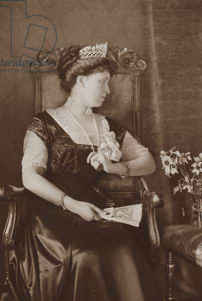 Irene, Princess Henry of Prussia, after 1888 (b/w photo)