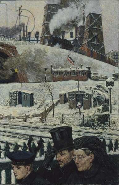 War Winter, 1917 (oil on canvas)