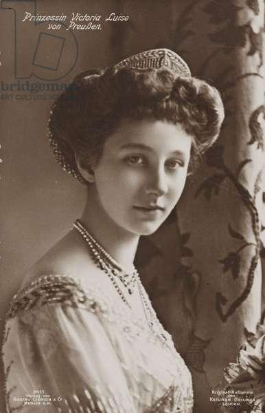 Viktoria Luise of Prussia, c.1910 (b/w photo)