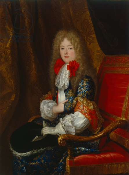 Elisabeth Charlotte (Liselotte) of the Palatinate, Duchess of Orléans, in hunting dress, c.1678 (oil on canvas)