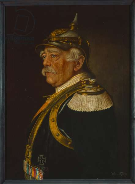 Prince Otto von Bismarck, 1898 (oil on canvas)