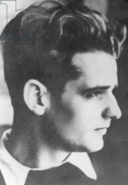 Hans Scholl, before 1943 (b/w photo)
