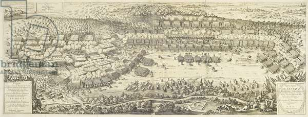 The Battle of Breitenfeld on 17 September 1631, from 'Theatrum Europaeum' volume II, engraved by Matthaus Merian the Elder, 1631 (engraving)
