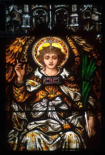 Pre-Raphaelite window