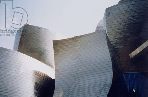 Detail from the exterior, completed in 1999 (photo)