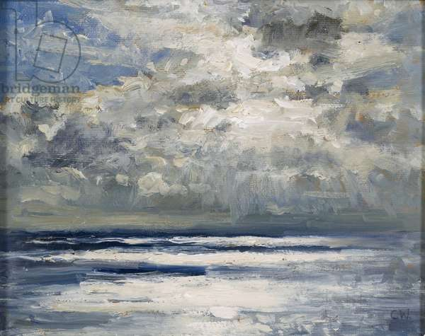 Light on the Sea, 2008 (oil on canvas)